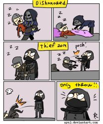 Thief 2014, doodles 4 by Ayej