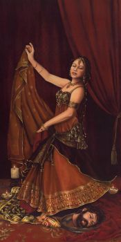Salome with the Head of John the Babtist by dani-lachuk