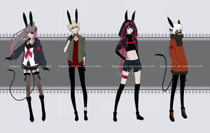 [CLOSED] AnarBits Species Adoptables Auction by Kageyumi