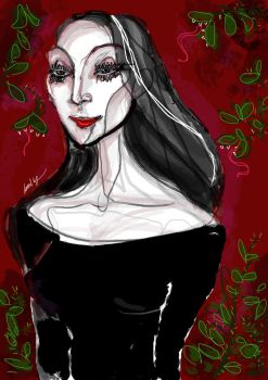 Morticia by Voodoo-kiss