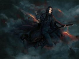 Flying Severus by j-vidanova