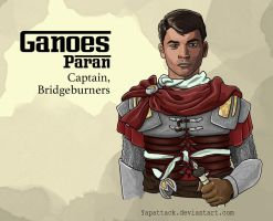 Ganoes Paran: Captain, Bridgeburners by YapAttack