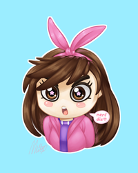 [gift] gremlin d-va by Mittz-The-Trash-Lord
