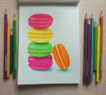 French Macarons  sketch by MarjoryBurnt