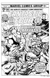 Fantastic Four #193 Cover Recreation by dalgoda7