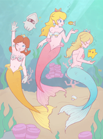 Request - Mer!Princesses by littlemiss-princess