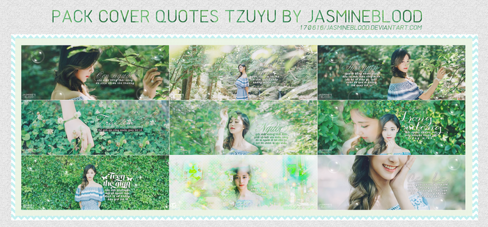 SHARE PSD COVER QUOTES TZUYU BY JASMINE BLOD by JasmineBlood