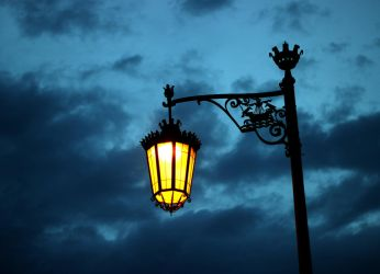 Street Lamp at Camoes Square by soulsweeper