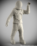 Astronaut for Scott Robertsons Orb Ship Resin Kit by pedramk