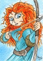 Merida from Brave by AtlantaJones