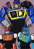 Soundwave and cassettes by xoes