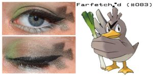 Pokemakeup 083 Farfetch'd