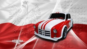 FSM Syrena Wallpaper by GregKmk