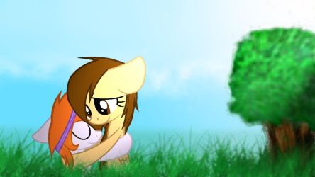 My First Wallpaper by WilczaLupus
