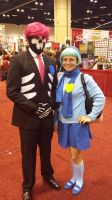 Lewis and Vivi (Mystery Skulls) - MegaCon 2015 by AviatorAndy