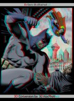 Anaglyph 3D tribute to Brian Bolland by 3dfantasys