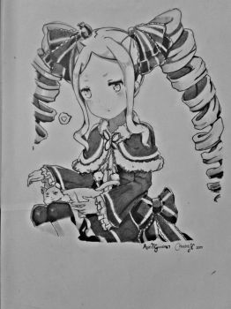 Beatrice(Drawing) - Re:Zero [2] by AgentGaara47
