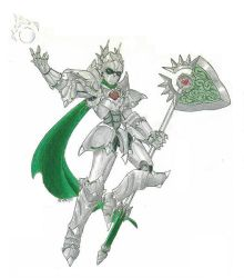 Gawain, the Viridian Knight by Lustrare