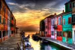 Raggi di sole su Burano by Brompled