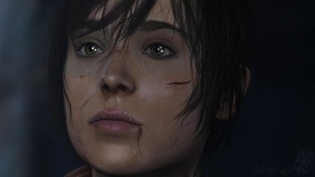 Beyond Two Souls - Jodie Holmes by the-evil-legacy