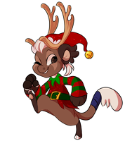 jolly elf by PillowRabbit