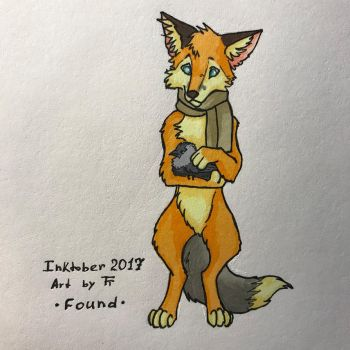 Inktober 30/31 - Found by Tora-Tikel
