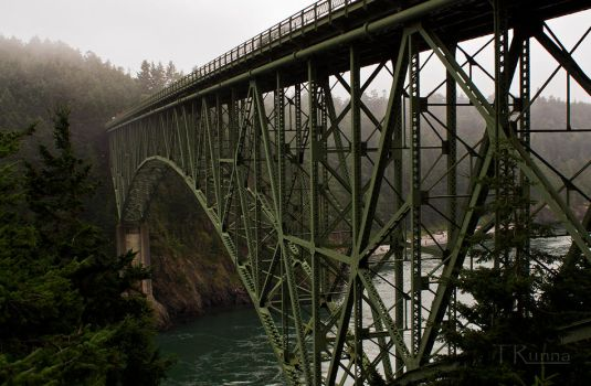 Bridge at Deception Pass  by TRunna