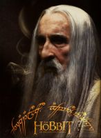 The Hobbit - Saruman the White by YoungPhoenix3191