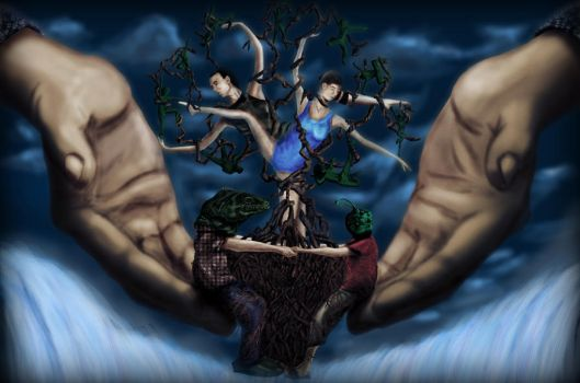 Handstree of Life by victorvps6