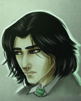 Young Severus by Vimeddiee