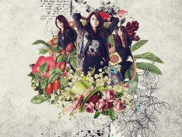 Wallpaper Choi Sooyoung by sophie-ddh