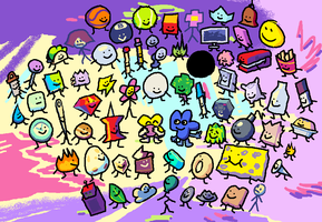 BFB: ballers by sean27emerald