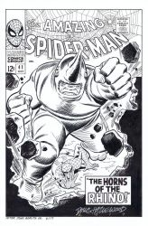 AMAZING SPIDER-MAN #41 Cover Recreation Hazlewood by DRHazlewood