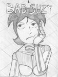 Bad Suzy Ch 1 Cover by EvilCake