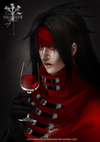 Fanart:+Happy Birthday Vincent Valentine+ by MariaDeniseBrebos