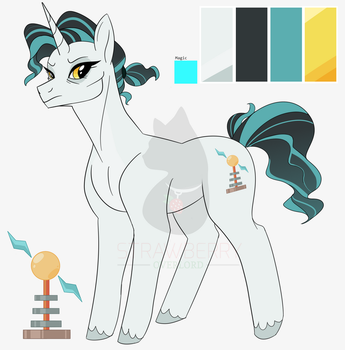 .:MLP OC:. Livewire by StrawberryOverlord
