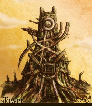 54 - Tower by jassiKo
