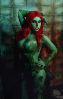 Poison Ivy Cosplay by elenasamko
