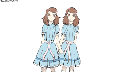 The Shining Twins by HousecatDaHousecat
