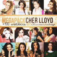 Megapack 100 +Watchers Dia 3 Cher Lloyd. by IllusionNeverChange