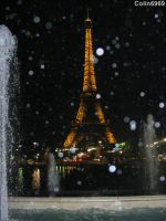 The Eiffel Tower by Night by colin6969
