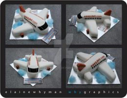 Easy Jet Plane Cake by elainewhy