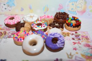 :Yummy Donuts: by steamed-flowers