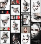 Abstract Impression Photoshop Action by GraphicAssets