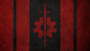 FALLOUT: Flag of the Brotherhood Outcasts by okiir