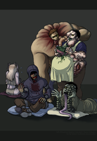 Happy Infected Family by ippylovesyou