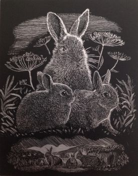 Rabbits by Sofypalazzolo