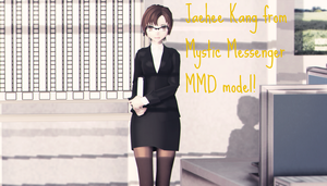 Jaehee Kang MMD model! (DL IN DESCRIPTION) by BKgirl483