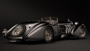 1930 Mercedes-Benz SS Roadster - Erdmann Rossi by nancorocks