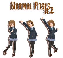 MMD - normal poses#2 DL by MMDMikuxLen